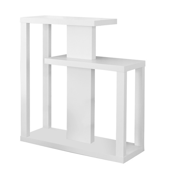 """11.75"""" x 31.5"""" x 34"""" White, Particle Board, Hall Console - Accent Table"""