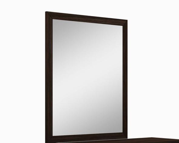 "43"" Refined Wenge High Gloss Mirror"