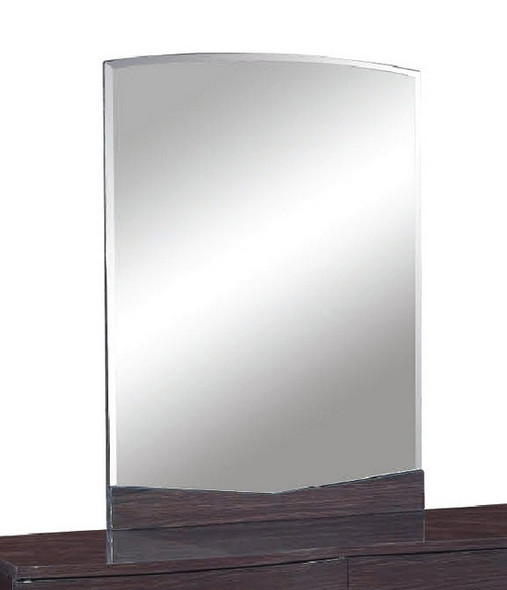 """43"""" Exquisite Wenge High Gloss Mirror"""