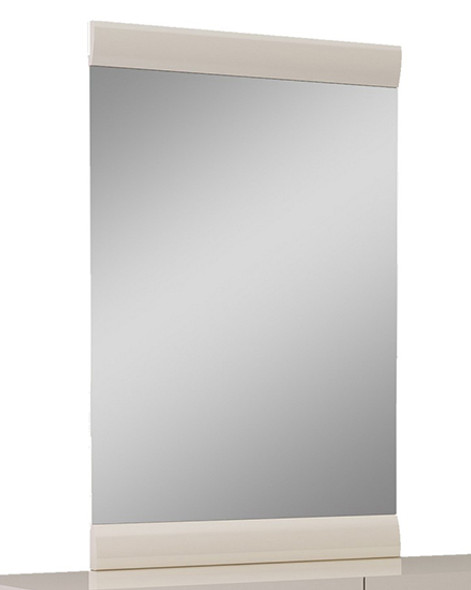 "47"" Refined Beige High Gloss Mirror"