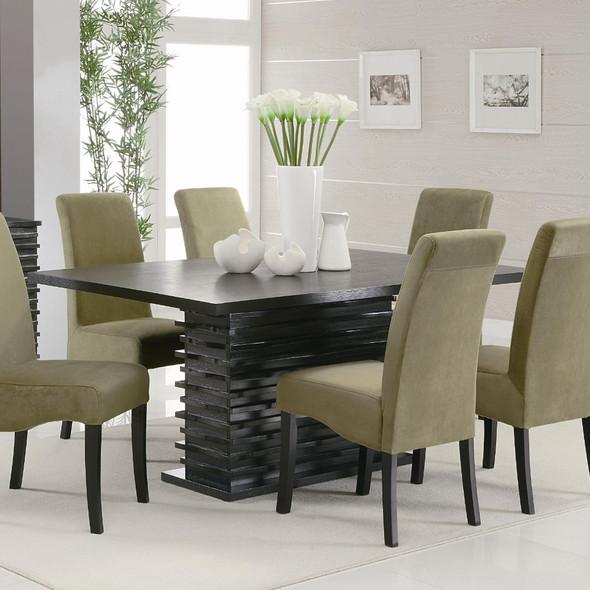 Elegantly Designed Wooden Dining Table, Black