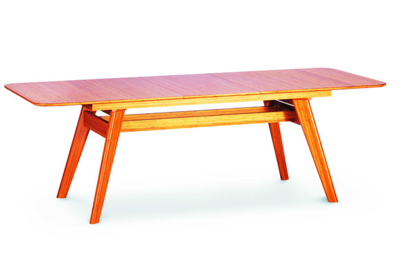 "36"" x 72.05"" 30"" Extendable Dining Table, Caramelized"