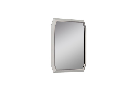 "37"" X 2.2"" X 49"" Taupe Glass Mirror"