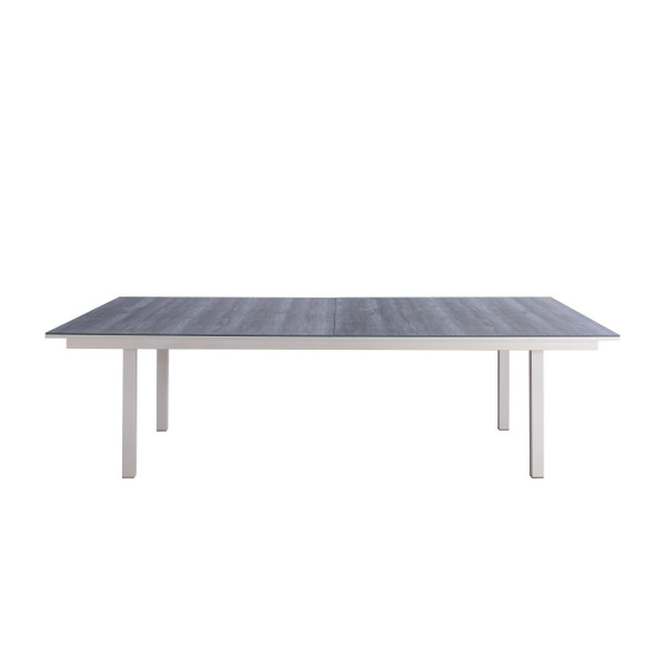 "108"" X 60"" X 30"" Light gray Ceramic/Glass Game Table"