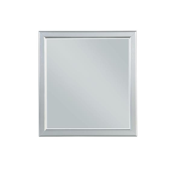 """36"""" X 38"""" Platinum Wood Mirror - 347112"""
