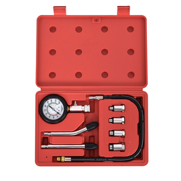 "8 pcs Professional Gas Engine 2.5"" Gauge Kit"