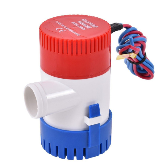 12 V 1100 GPH Electric Bilge Pump Marine Boat Submersible
