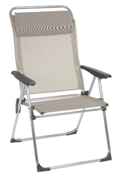 26.7'' X 26.7'' X 43.7'' Seigle Aluminum Camping Chair XL