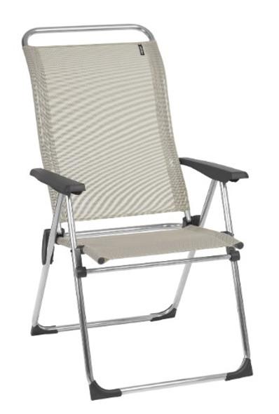 24.8'' X 26.4'' X 43.7'' Seigle Aluminum Camping Chair