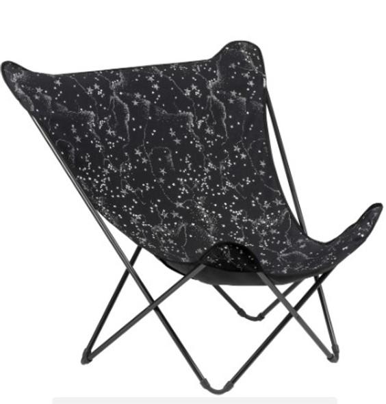 35.8'' X 32.7'' X 34.2'' Garace Acier Steel Pop Up XL Lounge Chair