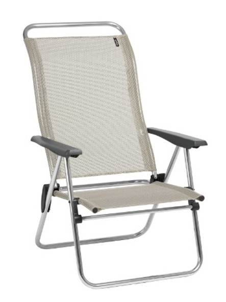 24.8'' X 27.2'' X 39.8'' Seigle Aluminum Camping Chair Low