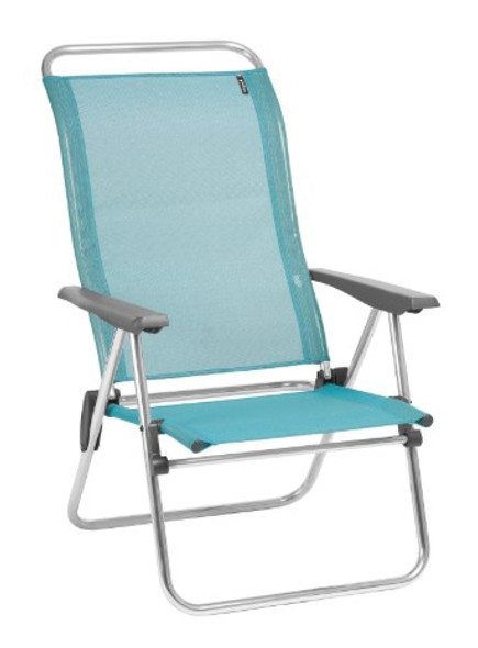 24.8'' X 27.2'' X 39.8'' Lac Aluminum Camping Chair Low