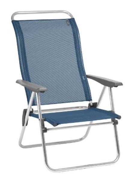 24.8'' X 27.2'' X 39.8'' Ocean Aluminum Camping Chair Low