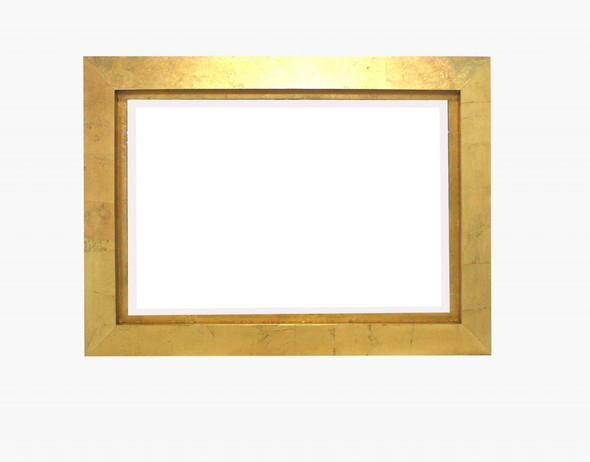 "34"" x 46"" x 2.25"" Gold, Rectangular - Cosmetic Mirror"