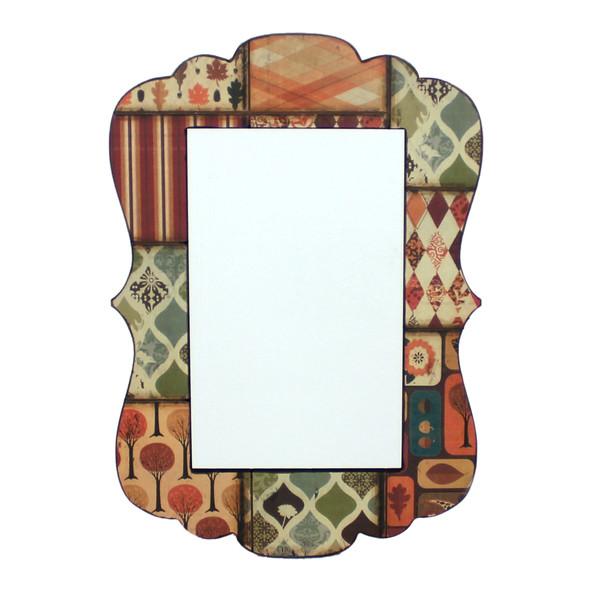 "0.24"" x 27.17"" x 18.9"" Multi-Color, Vintage Decorative, Dressing - Mirror"