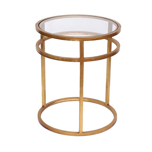 "20"" x 20"" x 24"" Gold, Minimalist - Coffee Table"