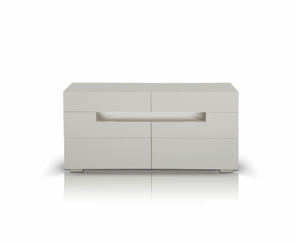 """28"""" White MDF Dresser"""