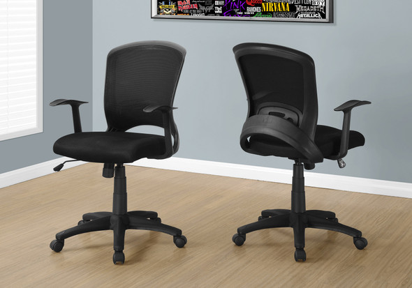 """35.5"""" Foam, MDF, Polypropylene, and Metal Multi Position Office Chair"""