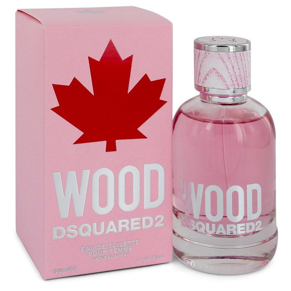 Dsquared2 Wood by Dsquared2 Eau De Toilette Spray 3.4 oz for Women