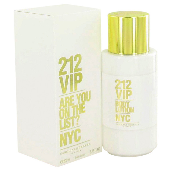 212 Vip by Carolina Herrera Body Lotion 6.7 oz for Women