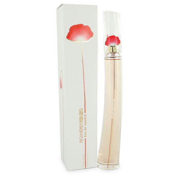 Kenzo Flower Eau De Lumiere by Kenzo Eau De Toilette Spray 3.3 oz for Women