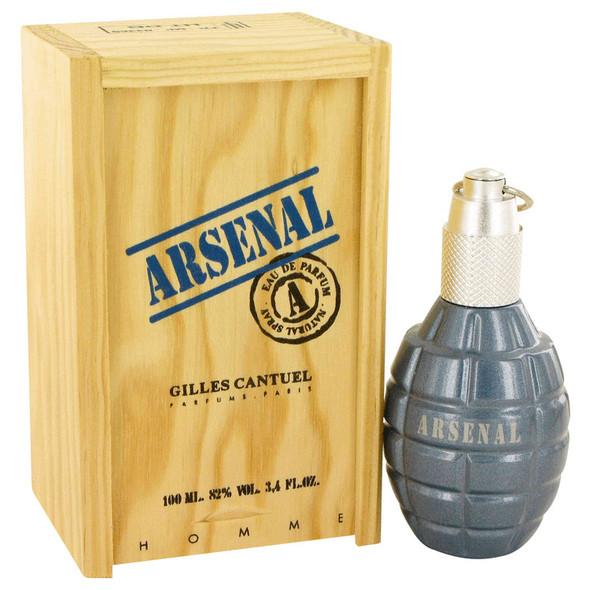 ARSENAL BLUE by Gilles Cantuel Eau De Parfum Spray for Men