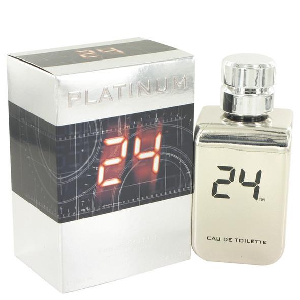 24 Platinum The Fragrance by ScentStory Eau De Toilette Spray for Men