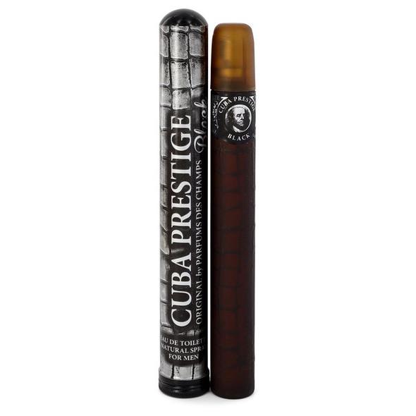 Cuba Prestige Black by Fragluxe Eau De Toilette Spray 1.17 oz for Men