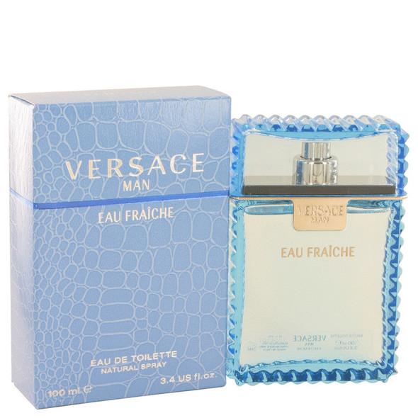 Versace Man by Versace Eau Fraiche Eau De Toilette Spray for Men