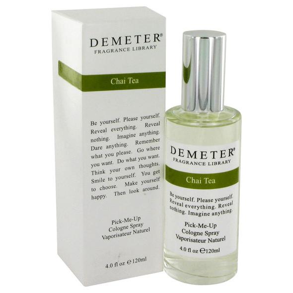 Demeter Chai Tea by Demeter Cologne Spray 4 oz for Women
