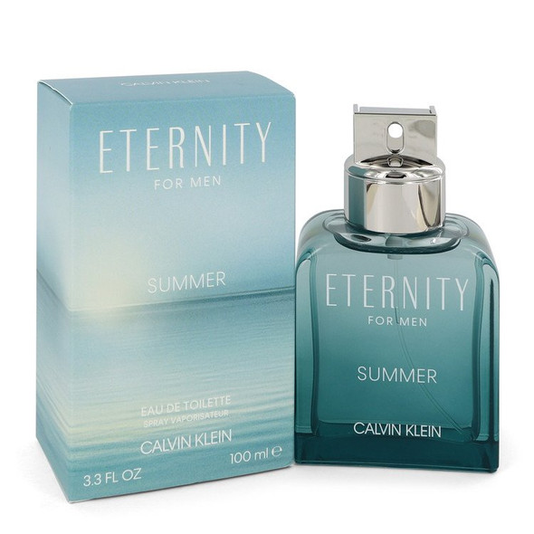 Eternity Summer by Calvin Klein Eau De Toilette Spray for Men