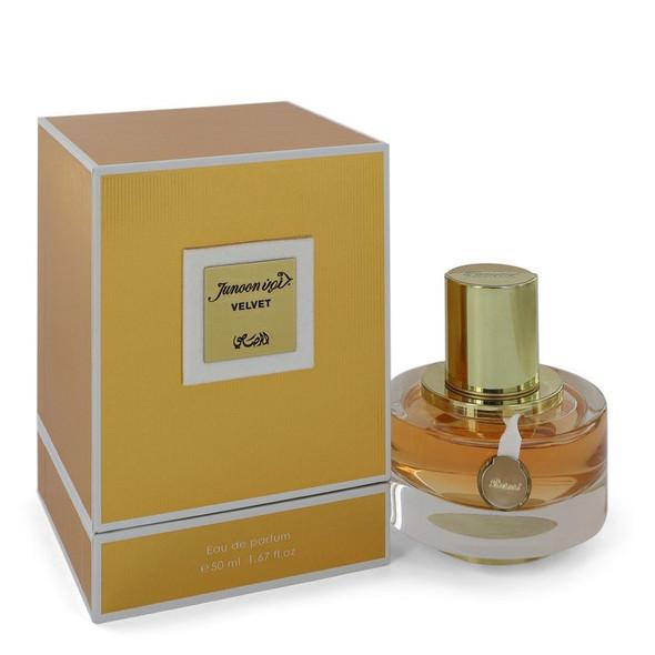 Rasasi Junoon Velvet by Rasasi Eau De Parfum Spray 1.67 oz for Women