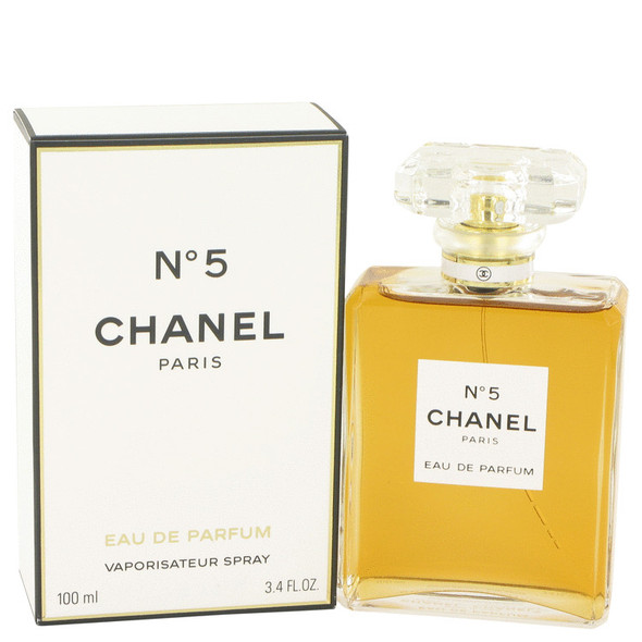 CHANEL No. 5 by Chanel Eau De Parfum Spray 3.4 oz for Women