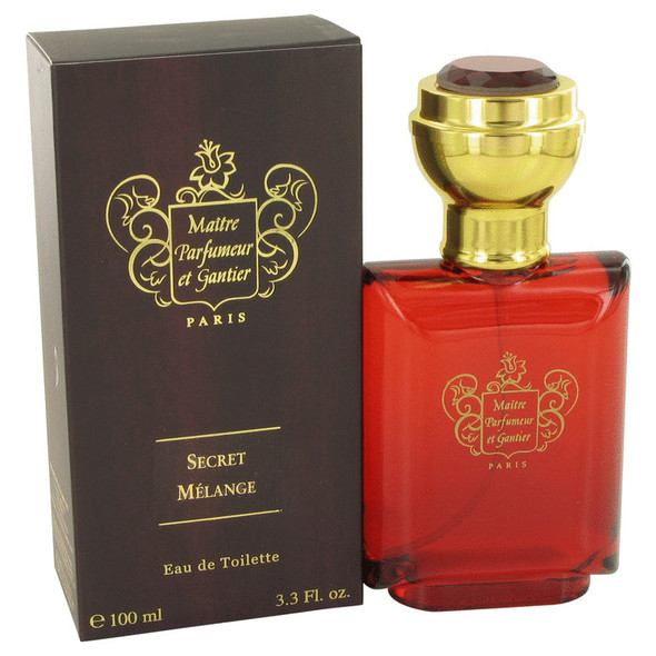 Secret Melange by Maitre Parfumeur et Gantier Eau De Toilette Spray 3.3 oz for Men