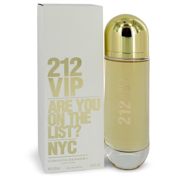 212 Vip by Carolina Herrera Eau De Parfum Spray 4.2 oz  for Women
