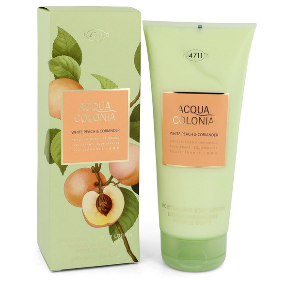 4711 Acqua Colonia White Peach & Coriander by Maurer & Wirtz Body Lotion 6.8 oz  for Women