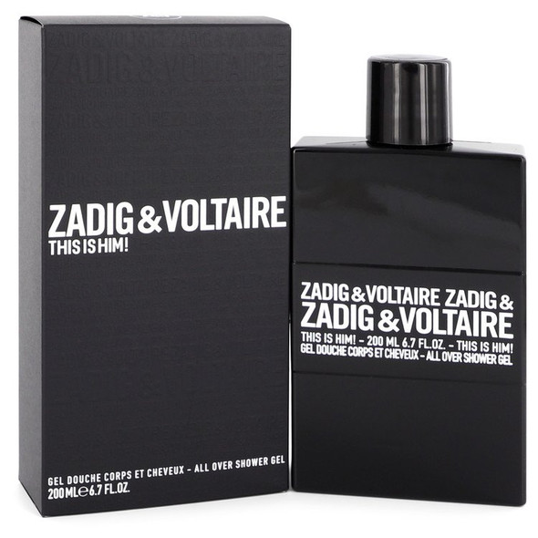 This is Him by Zadig & Voltaire Shower Gel 6.7 oz for Men