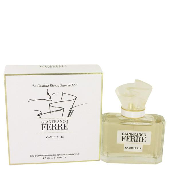 Gianfranco Ferre Camicia 113 by Gianfranco Ferre Eau De Parfum Spray 3.4 oz for Women