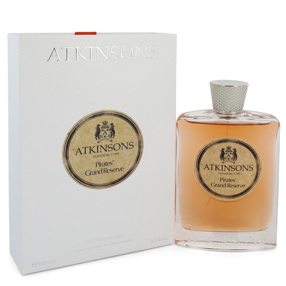 Pirates' Grand Reserve by Atkinsons Eau De Parfum Spray (Unisex) 3.3 oz for Women