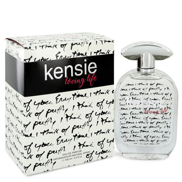 Kensie Loving Life by Kensie Eau De Parfum Spray 3.4 oz for Women
