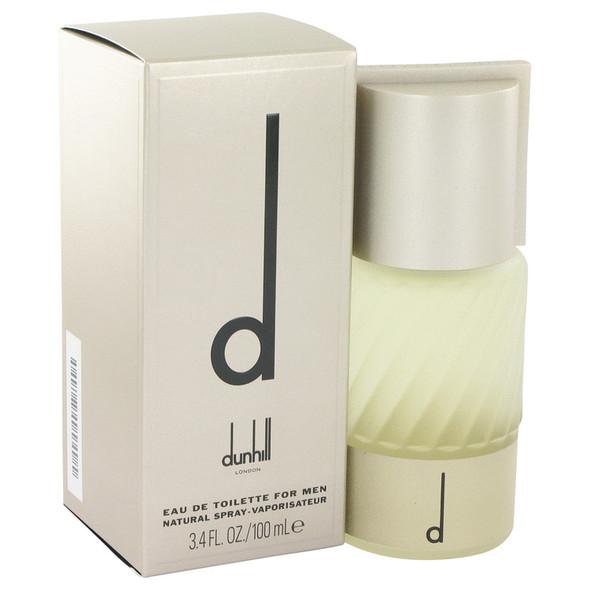 D by Alfred Dunhill Eau De Toilette Spray 3.4 oz for Men