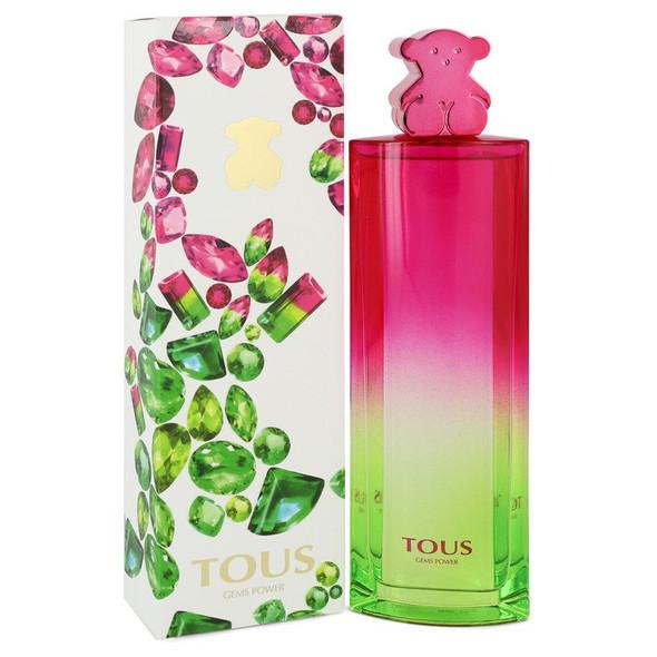 Tous Gems Power by Tous Eau De Toilette Spray 3 oz for Women