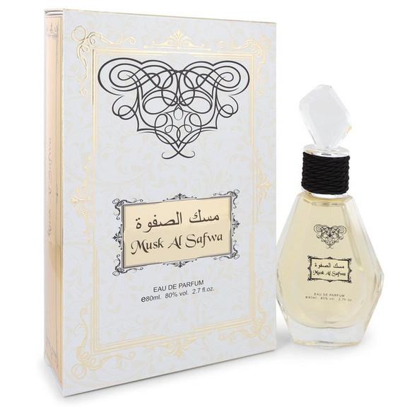 Musk Al Safwa by Rihanah Eau De Parfum Spray (Unisex) 2.7 oz for Men