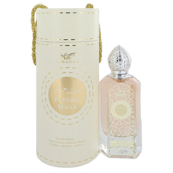 Rihanah Private Musk by Rihanah Eau De Parfum Spray (Unisex) 3.4 oz for Men