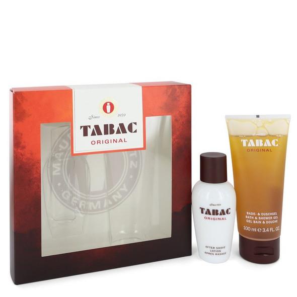 TABAC by Maurer & Wirtz Gift Set -- 1.7 oz After Shave Lotion + 3.4 oz Shower Gel for Men