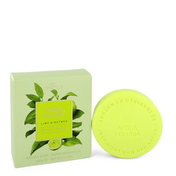 4711 Acqua Colonia Lime & Nutmeg by Maurer & Wirtz Soap 3.5 oz  for Women