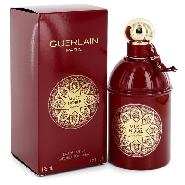 Musc Noble by Guerlain Eau De Parfum Spray 4.2 oz for Women