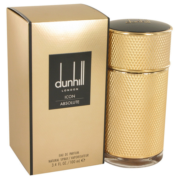 Dunhill Icon Absolute by Alfred Dunhill Eau De Parfum Spray 3.4 oz for Men