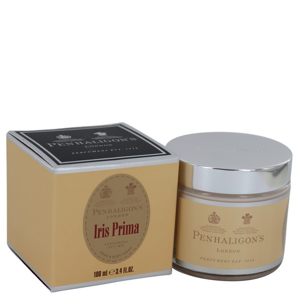 Iris Prima by Penhaligon's Hand & Body Cream 3.4 oz for Women