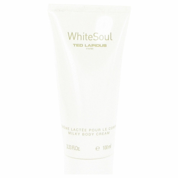 White Soul by Ted Lapidus Body Cream 3.3 oz for Women